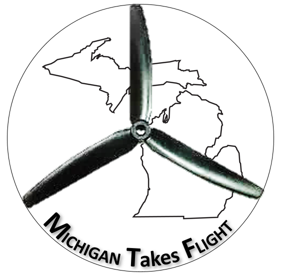Michigan Takes Flight logo